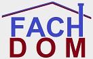 FACHDOM logo szary maly